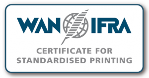ISO 12647:3 - Certification for Cold set web offset Newspaper